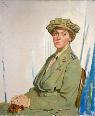 Dame Gwynne-Vaughan  #CRLF#Head of the British Women's Air Force, 1918  #CRLF#