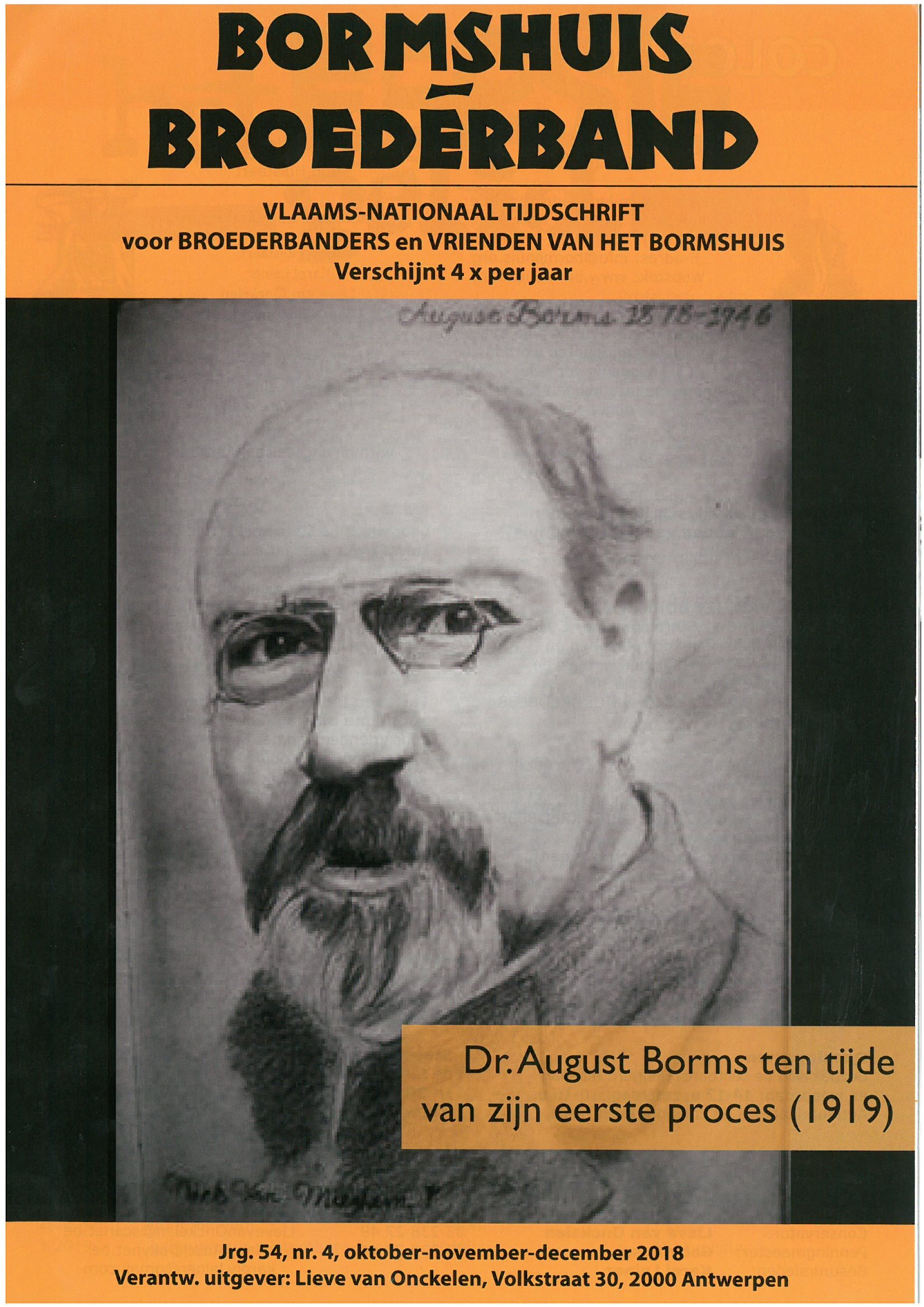 'Bormshuis Broederband' : Broederband (which has merged with the journal of the  'Bormshuis') is one of the journals from our collection that Steffen Werther consulted for his research.