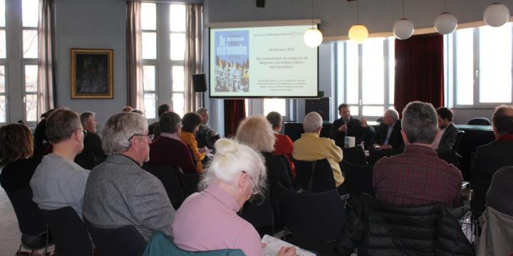 De overlevenden: de oorlog van de Belgische oud-strijders tijdens het interbellum. Rencontre d'Histoire publique du CegeSoma (2019 - 1)
