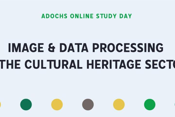 Image & Data Processing in the Cultural Heritage Sector