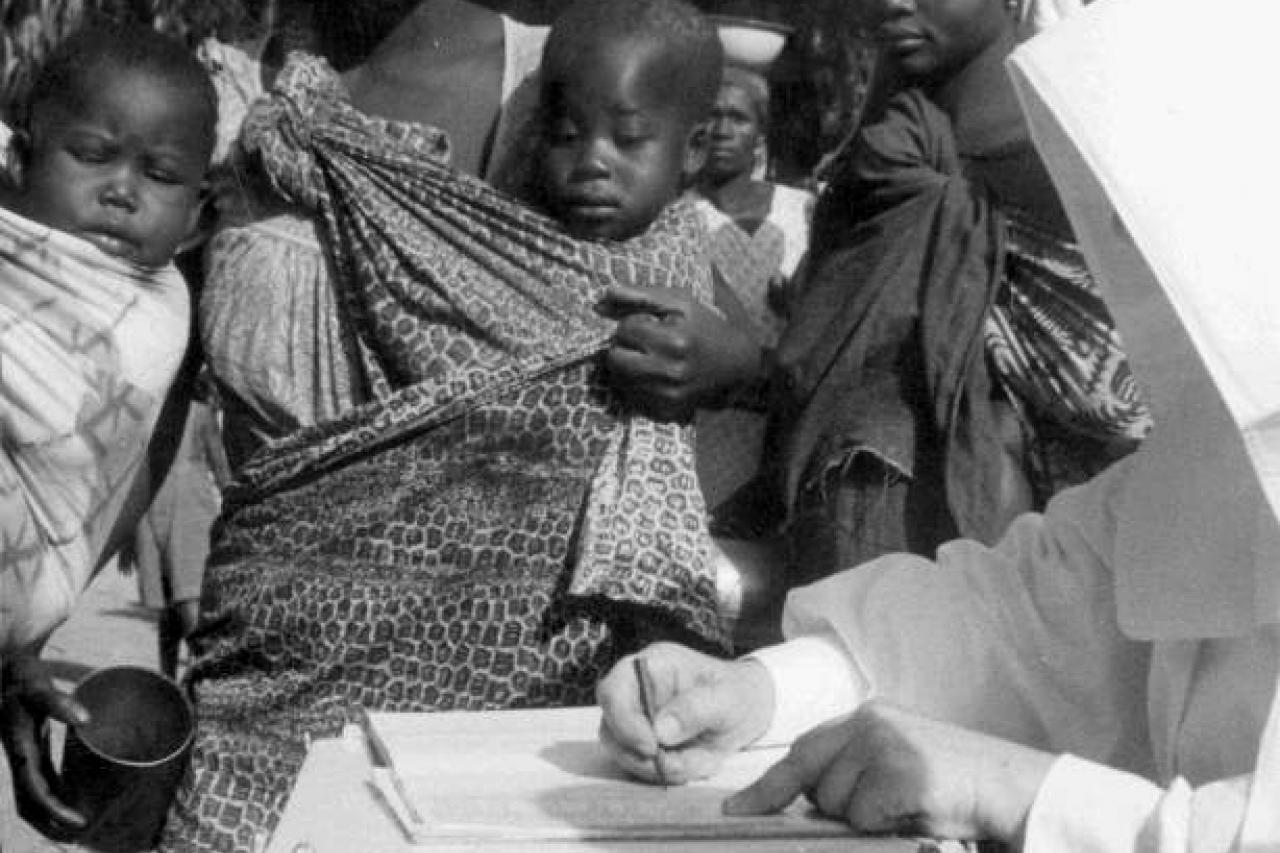 Congo, Zusters Missionarissen in het Stanleyville Ziekenhuis (1942-1944), fonds André Cauvin, rechten voorbehouden.