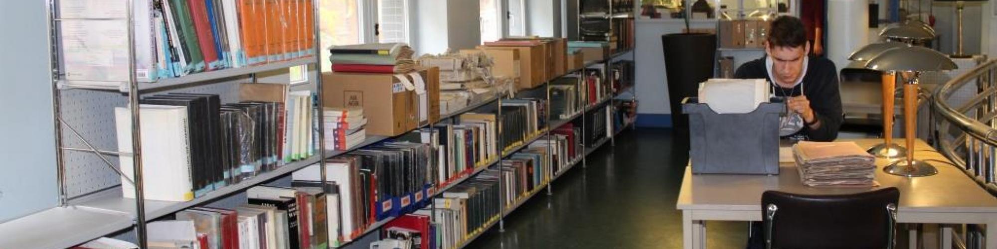De bibliotheek van CegeSoma