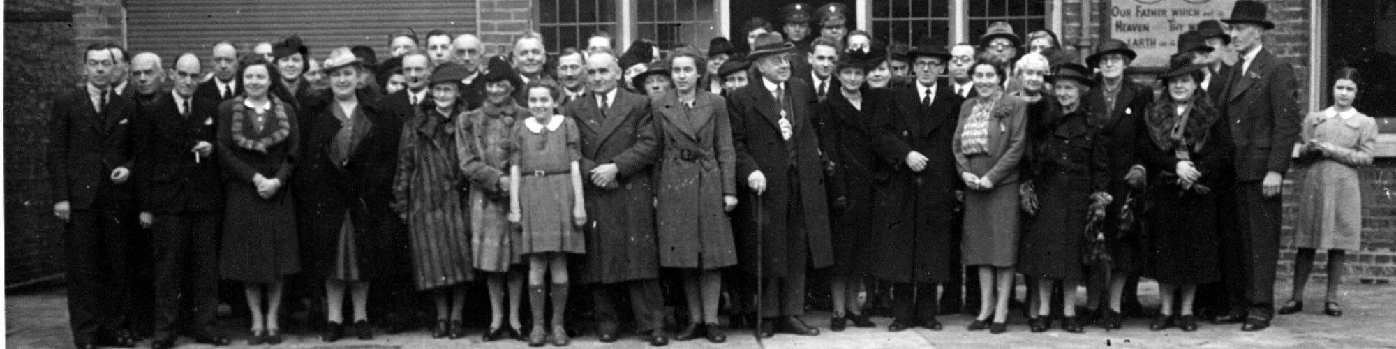 Réfugiés belges en Grande-Bretagne, Wimbledon, 2/1/1943 © CegeSoma/Archives de l'Etat