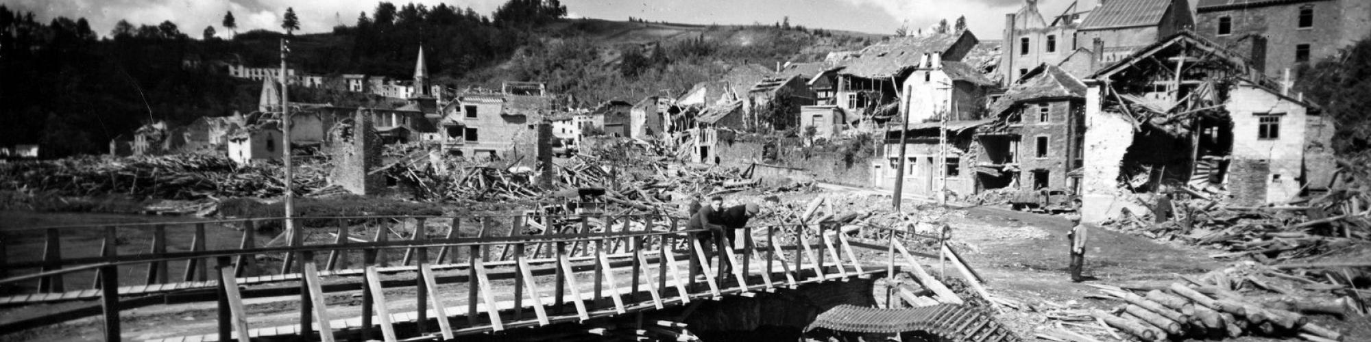 Houffalize, juin 1945, © CegeSoma.