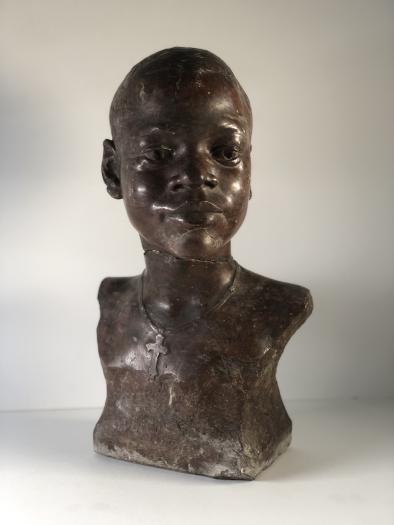 Buste de Paul Panda Farnana, Collection Ville de Mons, MBA 556