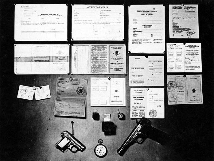 Services de Renseignement, photo n° 28082 © CegeSoma/Archives de l'Etat